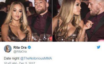 Conor McGregor & Rita Ora date night