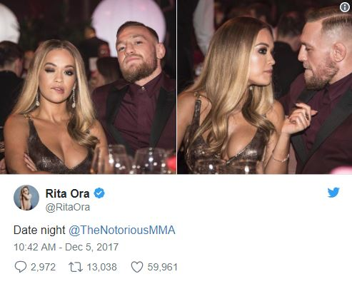 Conor McGregor & Rita Ora date night